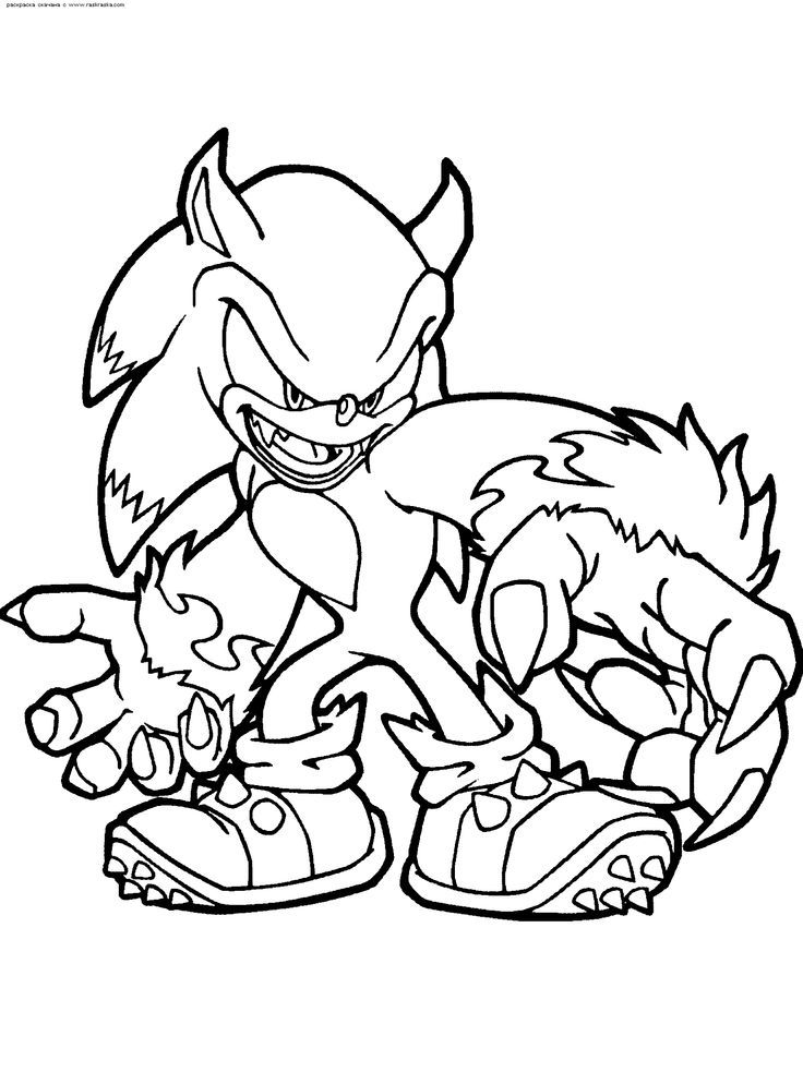 Metal Sonic Coloring Pages | COLORING PICTURES OF SONIC Â« ONLINE ...