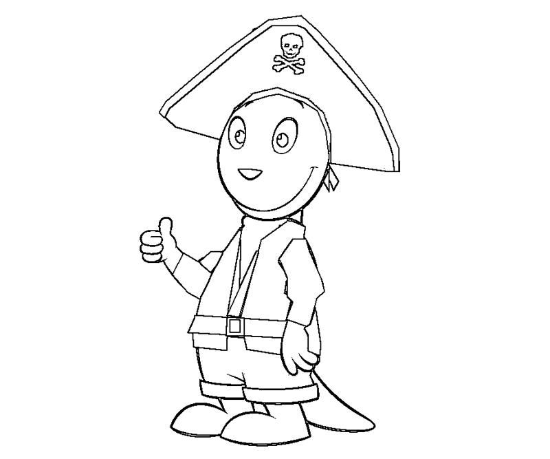 backyardigans coloring pages austin - photo#15