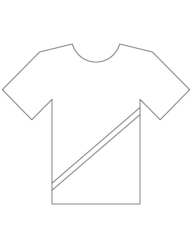 shirt coloring pages - photo#42