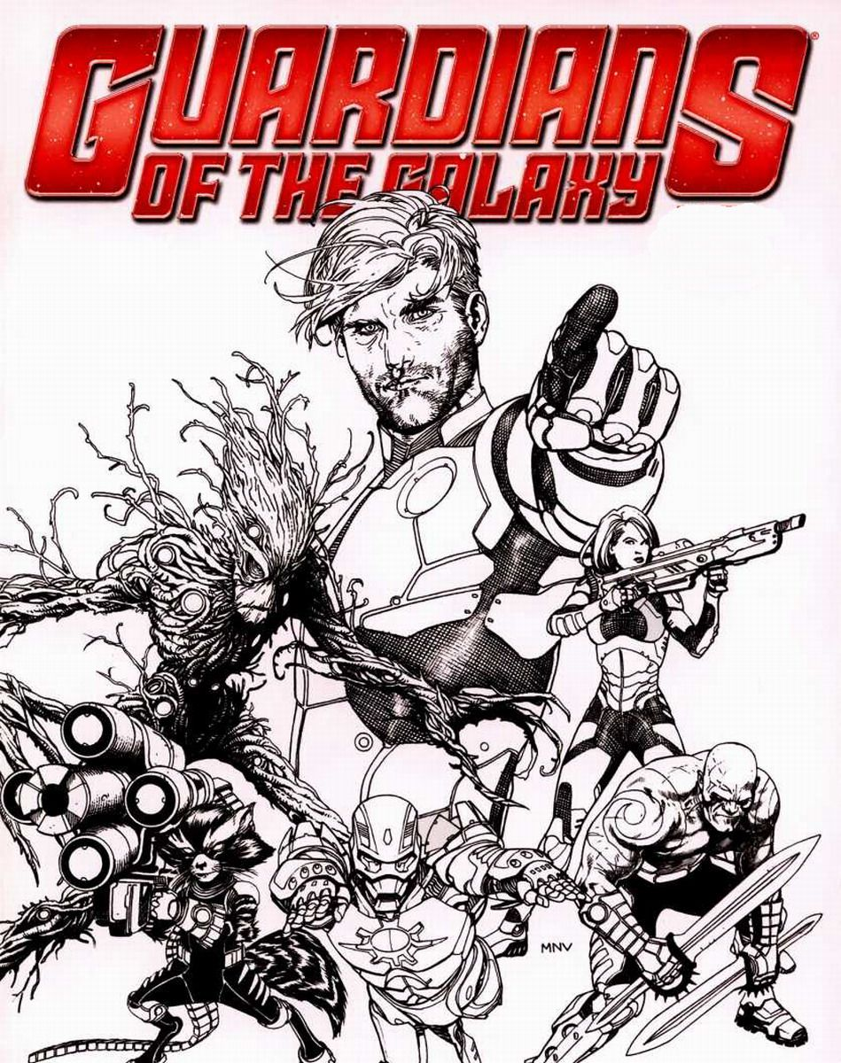 Guardians Of The Galaxy Coloring Pages - Coloring Home