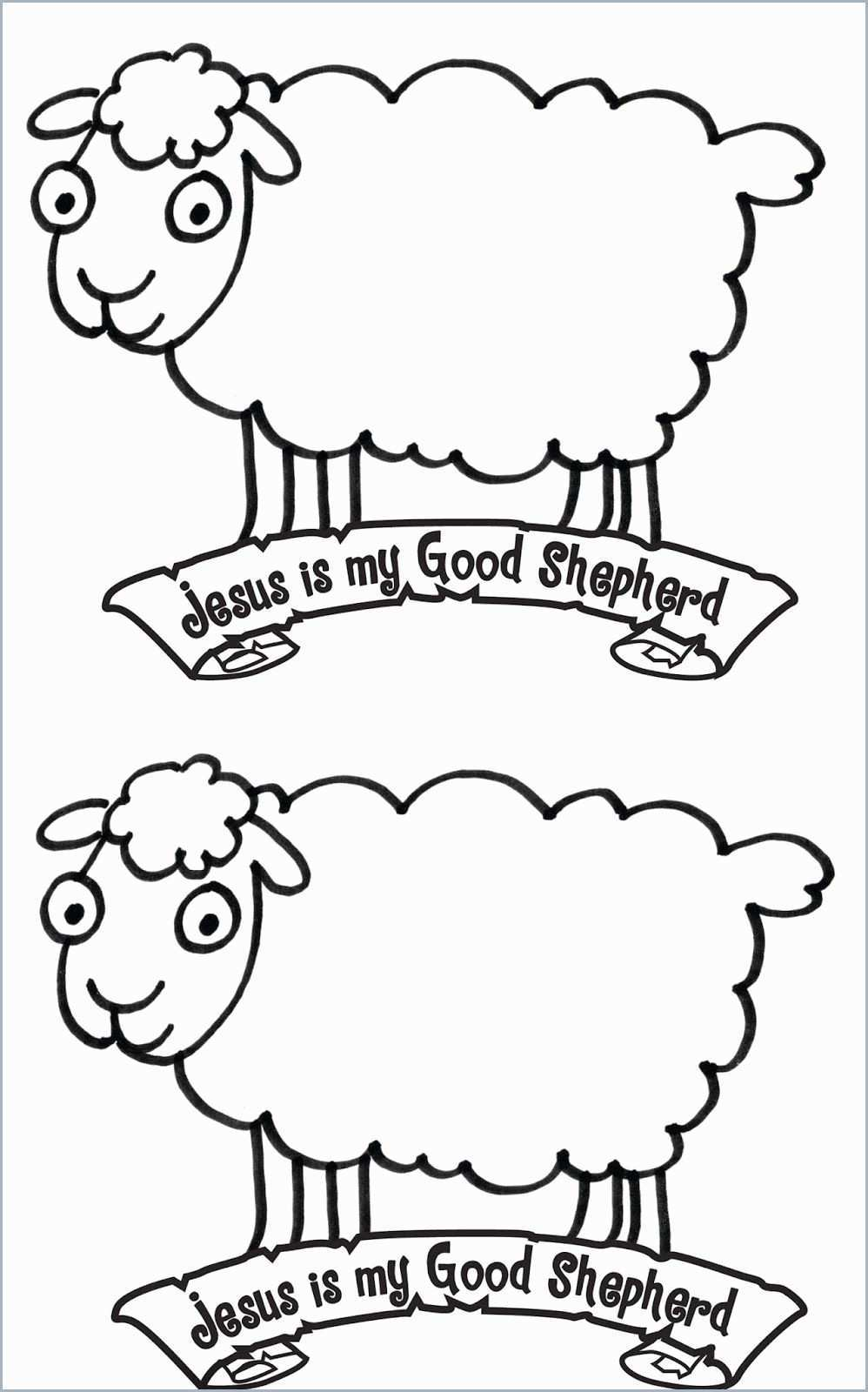 Good Shepherd Coloring Pages - Religious Doodles | 1600x998