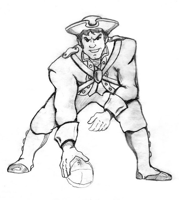 Tom Brady Coloring Pages Page 1