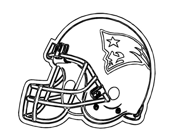 New England Patriots Coloring Pages - Coloring Home