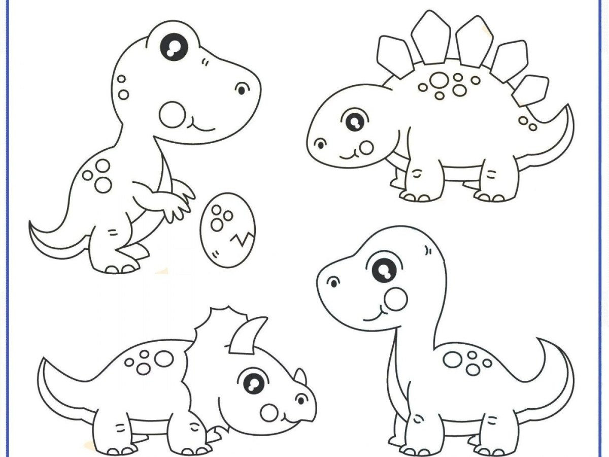 Dinosaurus Coloring Pages - Coloring Home