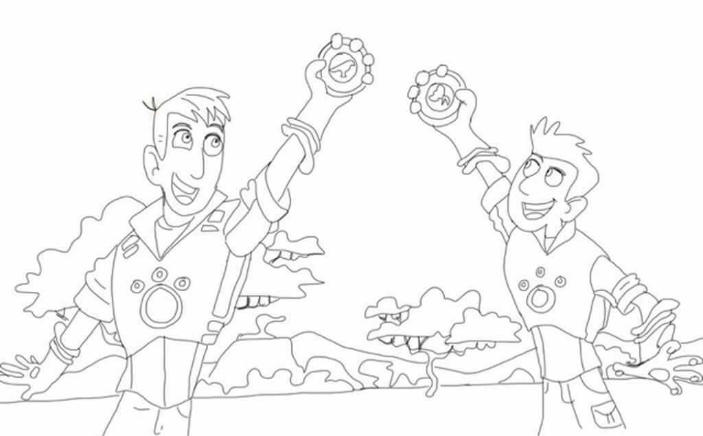 Wild Kratts Coloring Pages For Kids - Coloring Home