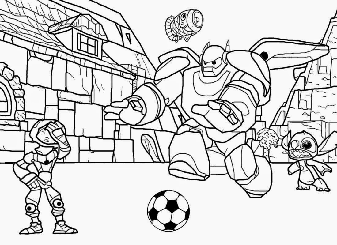 Big And Easy Coloring Pages - Coloring Home