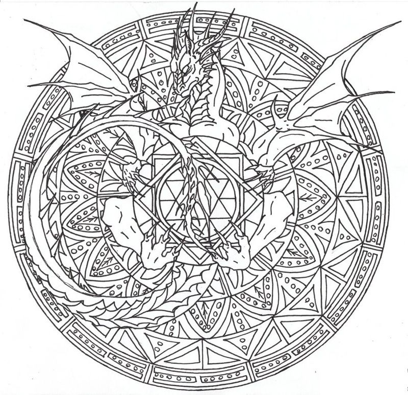 complicated coloring pages for adults free to print - coloring home - Complicated Coloring Pages