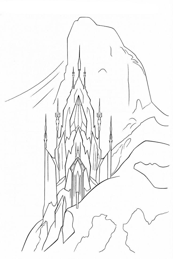 Frozen Coloring Pages Pdf Download : Coloring pages frozen castle home