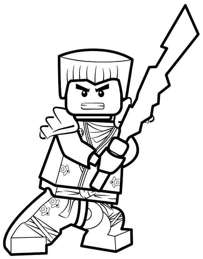 Ninjago Coloring Pages Zane - Coloring Home