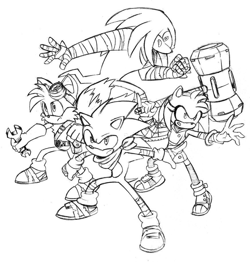 Sonic Boom Coloring Pages Related Keywords Amp Suggestions
