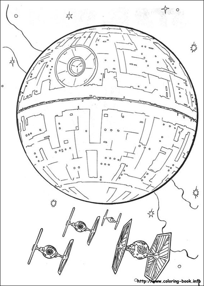 Star Wars Free Printable Coloring Pages for Adults & Kids {Over 100 Designs  | Star coloring pages, Star wars coloring book, Star wars coloring sheet