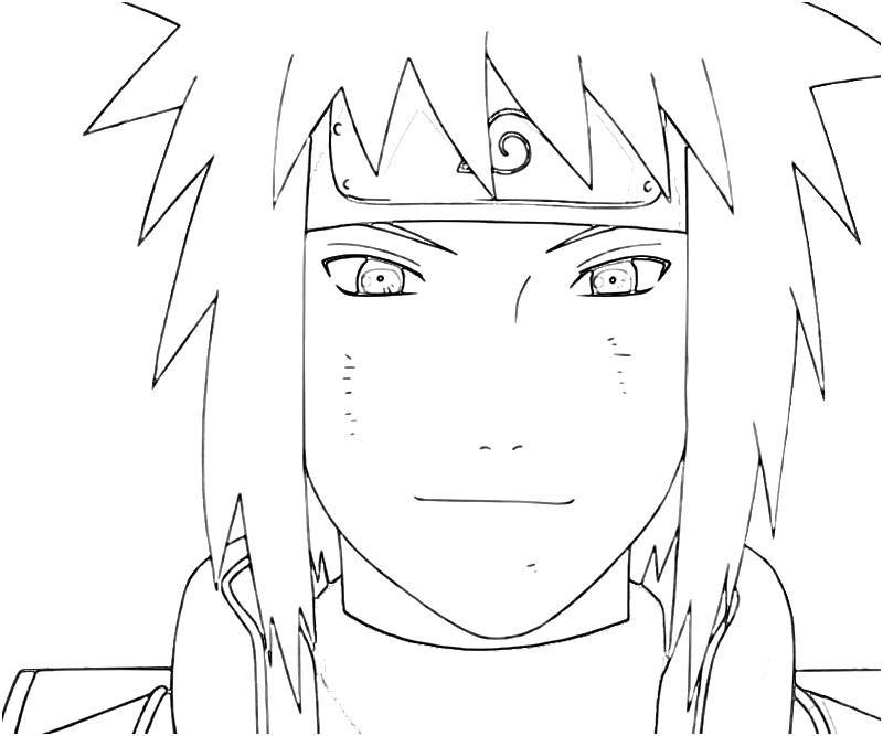 Naruto Printable Coloring Pages