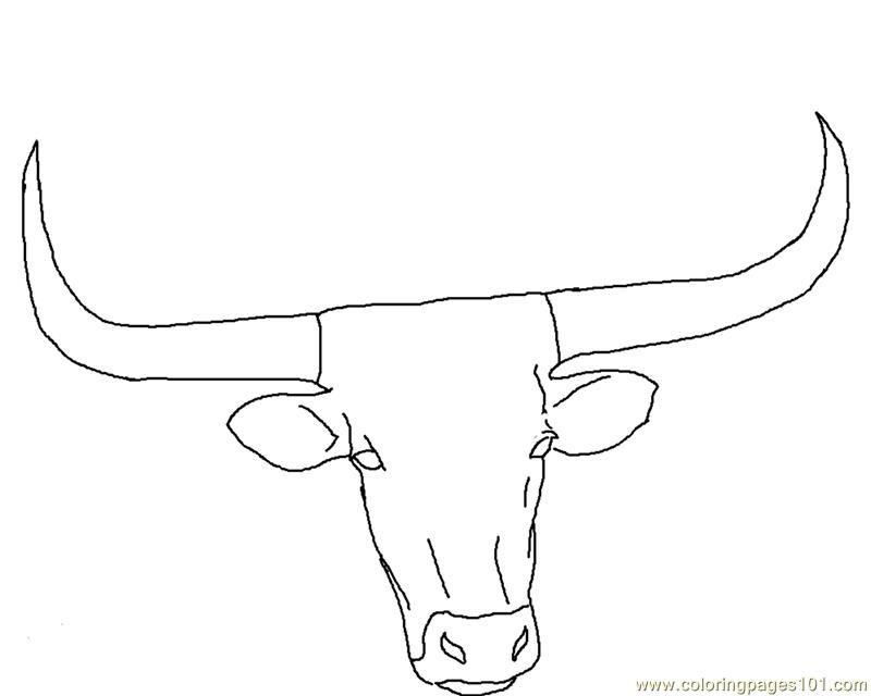 Texas longhorns coloring pages coloring home for Longhorn coloring page