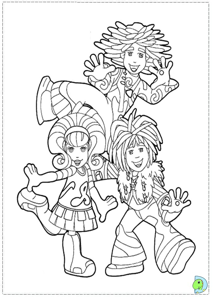 printable doodlebop coloring pages - photo#1