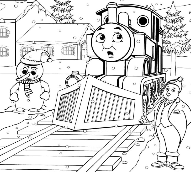 thomas and friend coloring pages - photo#17