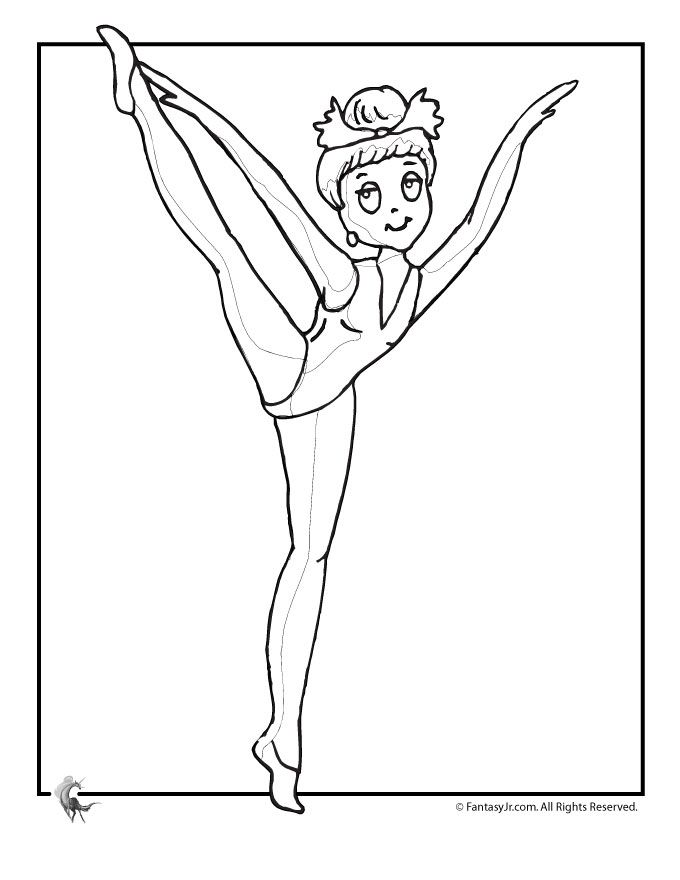 ballet coloring pages for kids az coloring pages