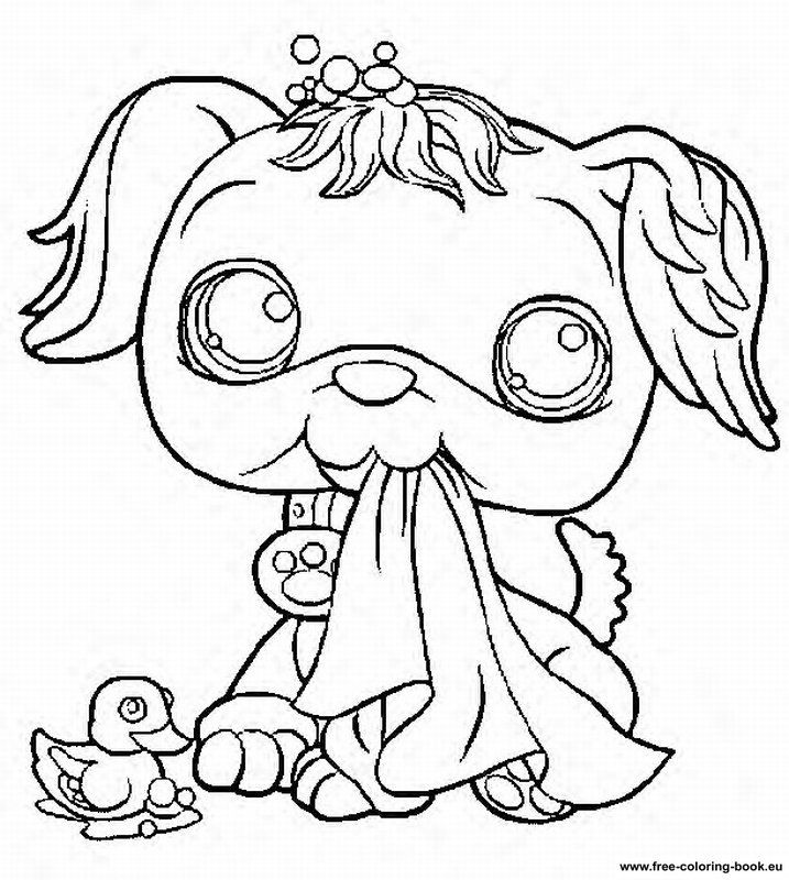 Coloring Pages Littlest Pet Shop Page 1 Printable