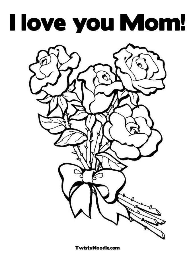 Worksheet. I Love You Mommy Coloring Pages  Coloring Home