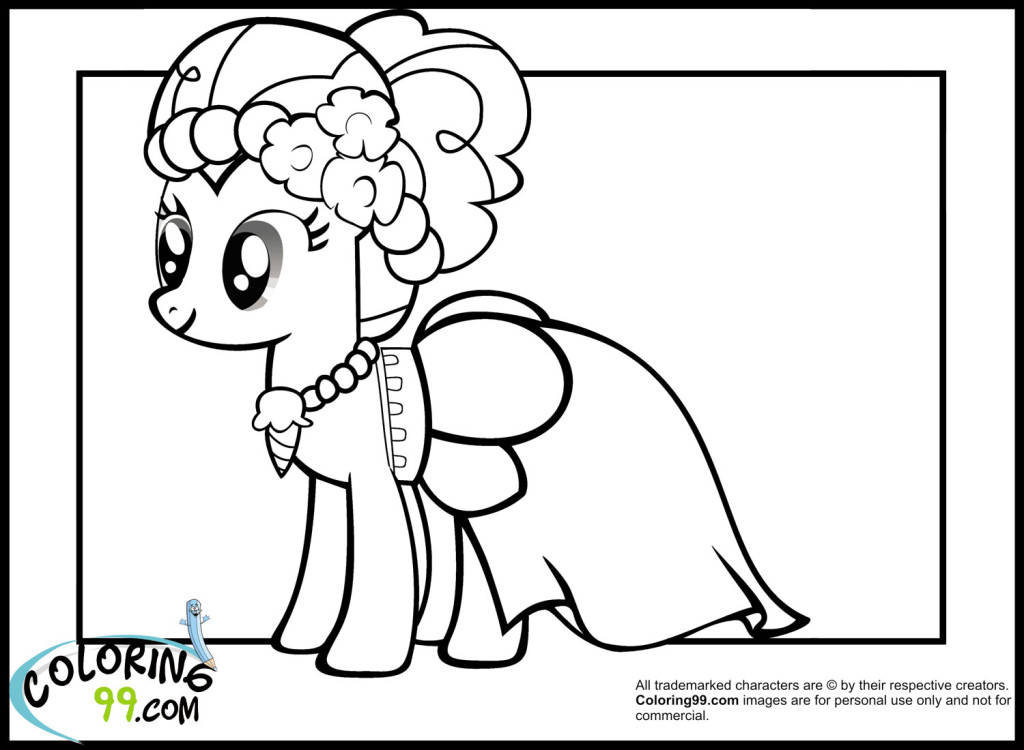 Pinkie pie coloring page az coloring pages - Coloriage pinkie pie ...