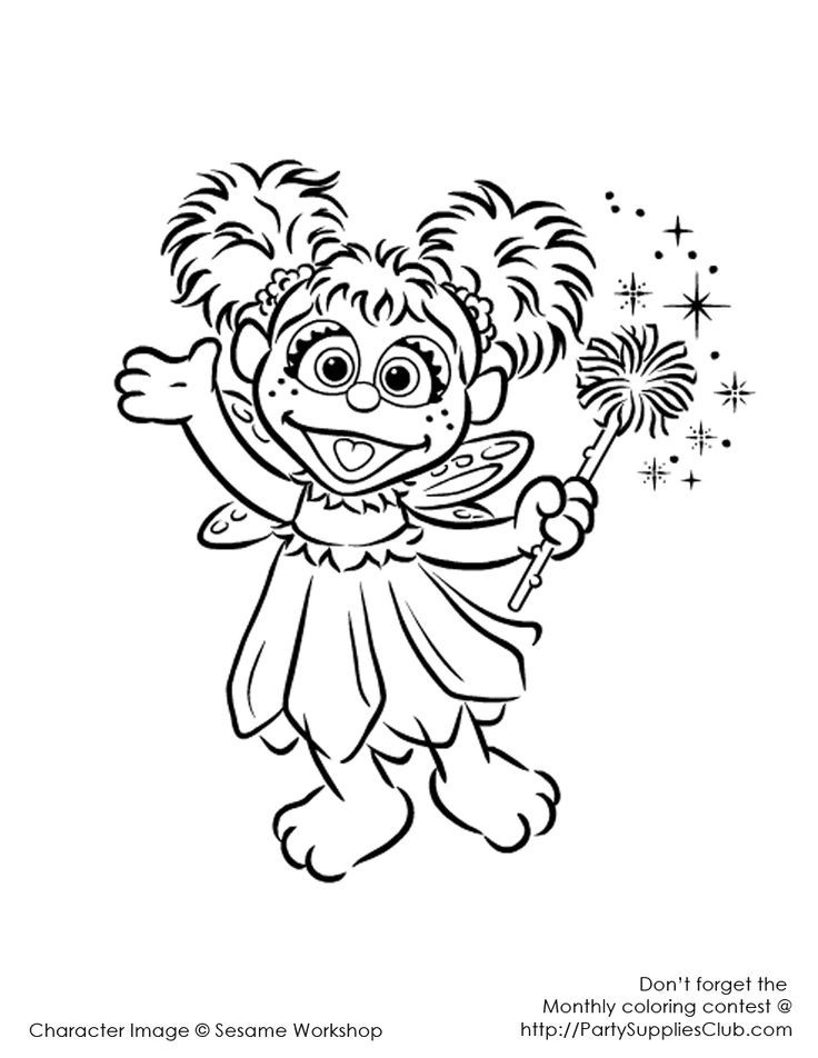 Abby Cadabby Coloring Pages To Print - Coloring Home