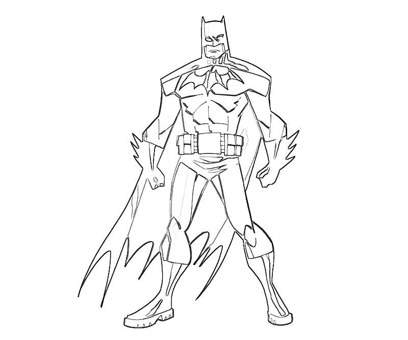 batman printable coloring home