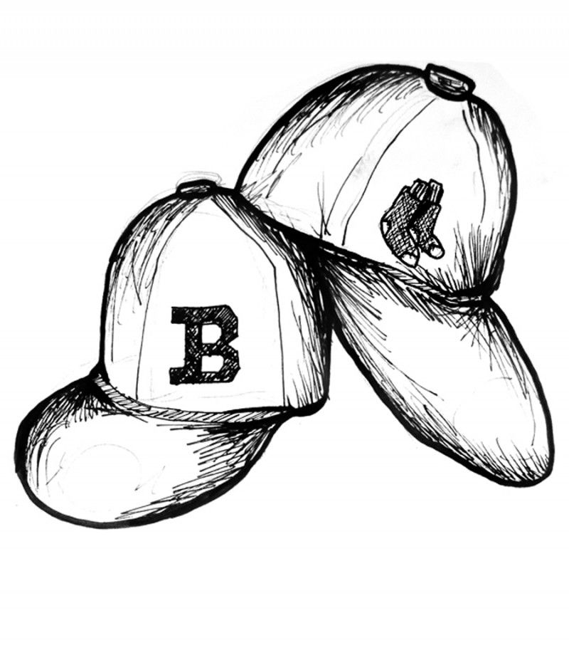 Red Sox Coloring Pages Free Coloring Home