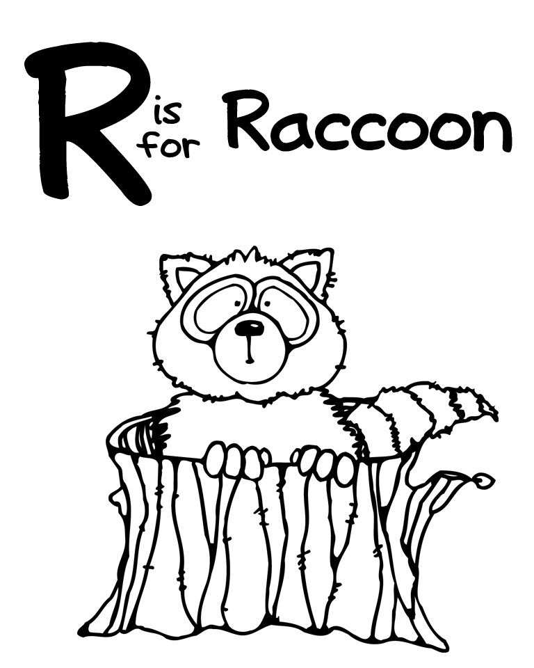letter r coloring pages preschool - photo#22