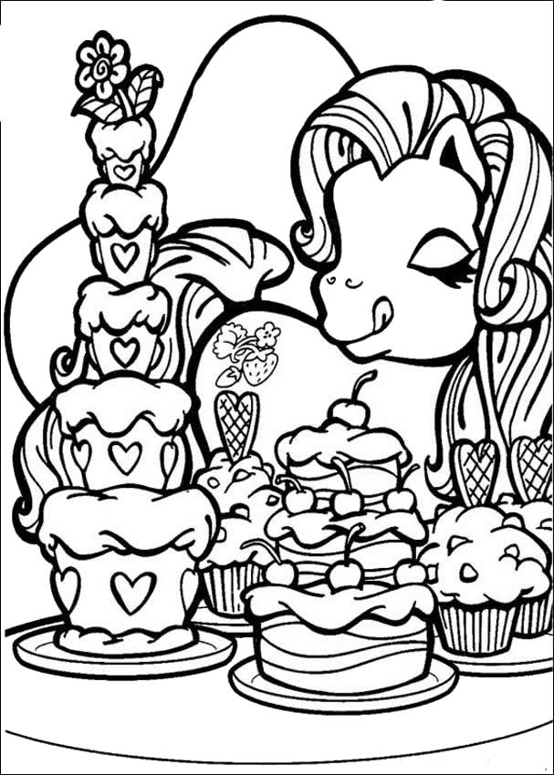 My Little Pony Characters Coloring Pages : My little pony characters coloring pages az