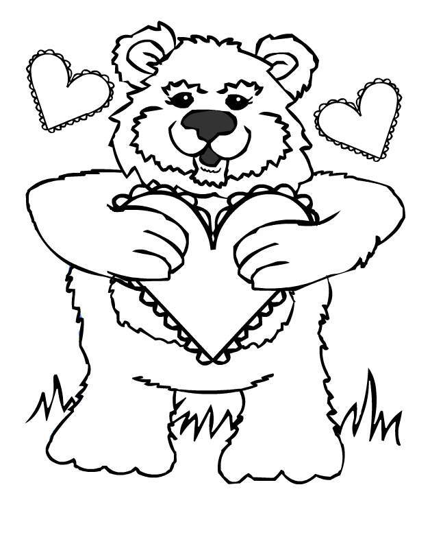 Valentine Coloring Pictures | Canadian Entertainment and Learning