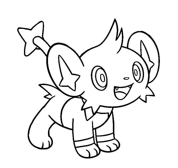 Sky Shaymin Coloring Page Coloring Pages Shaymin Coloring Pages