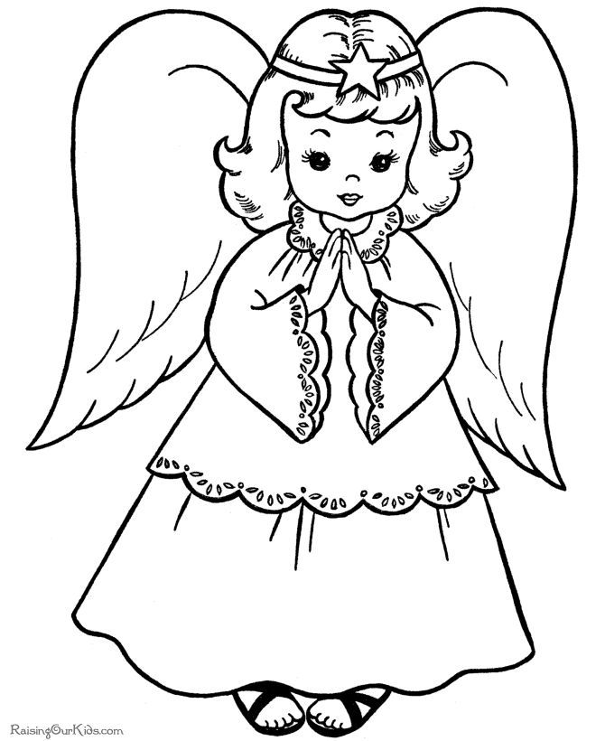 Christian christmas coloring pages for kids coloring home for Christian christmas coloring pages printable