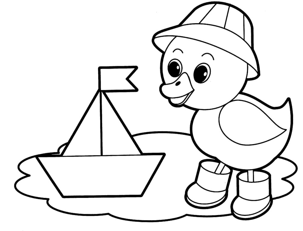 Preschool coloring pages animals az coloring pages for Coloring page for preschool