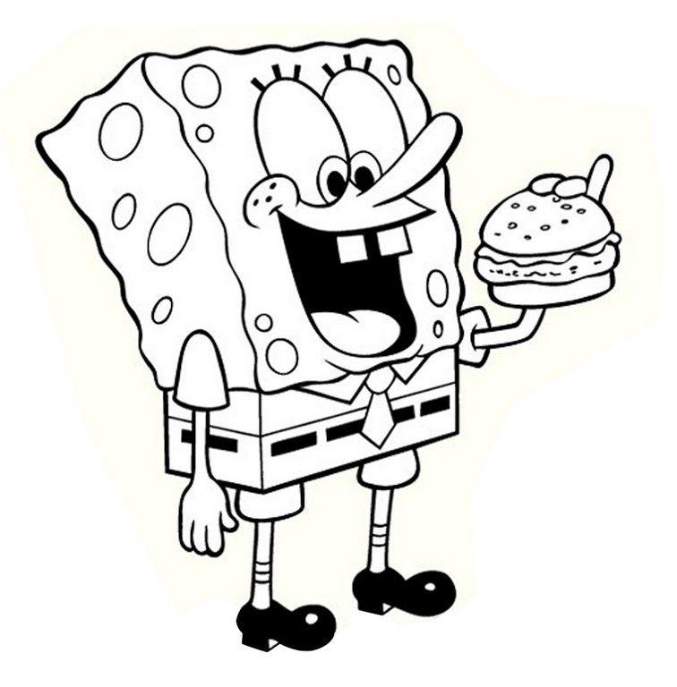 Nickelodeon Spongebob Coloring