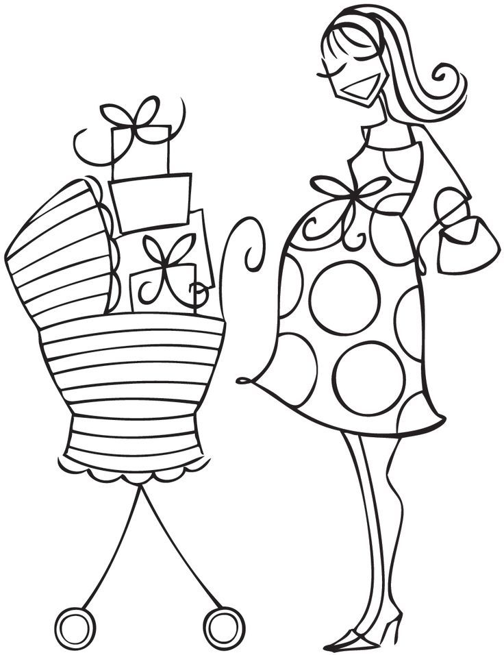 baby carriage coloring pages - photo #14