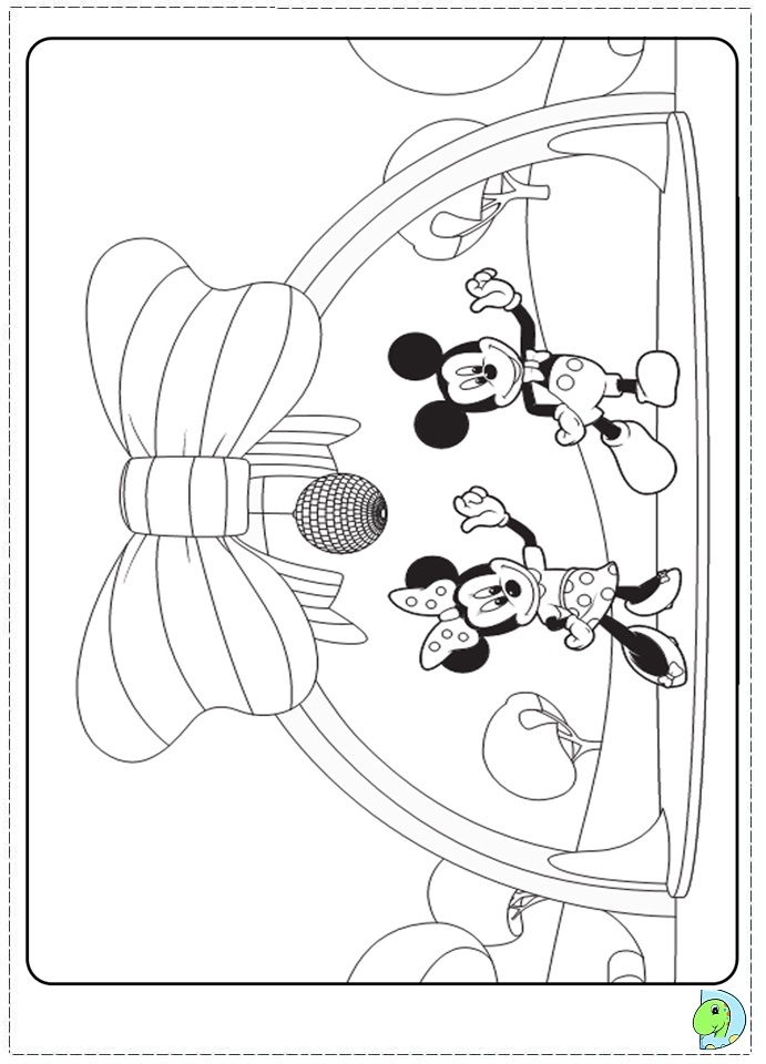club house coloring pages - photo#9