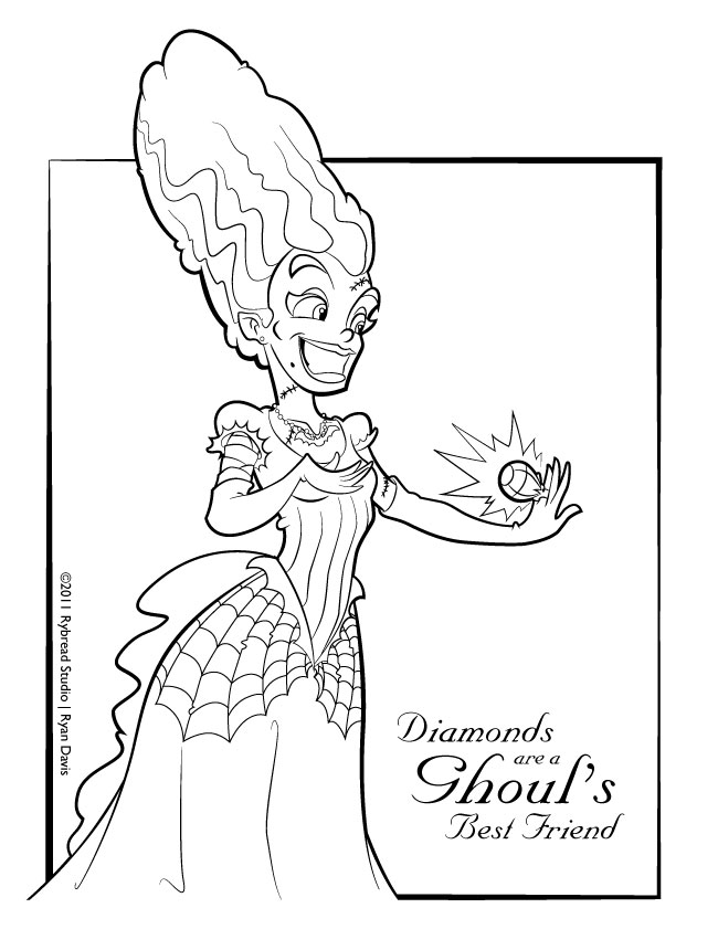 frankenstein coloring pages for free frankenstein coloring pages