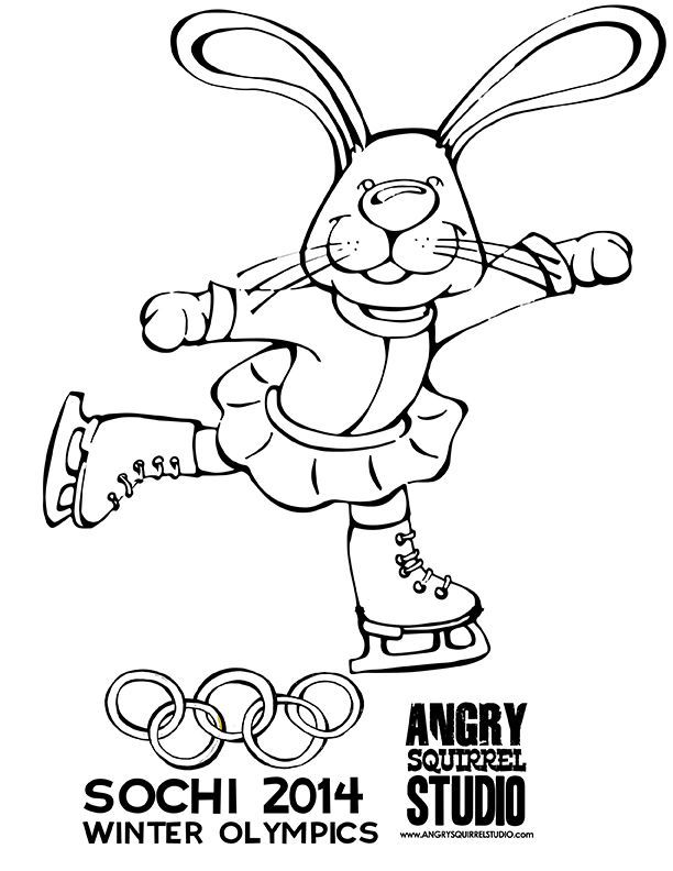 free olympic coloring pages - photo#26