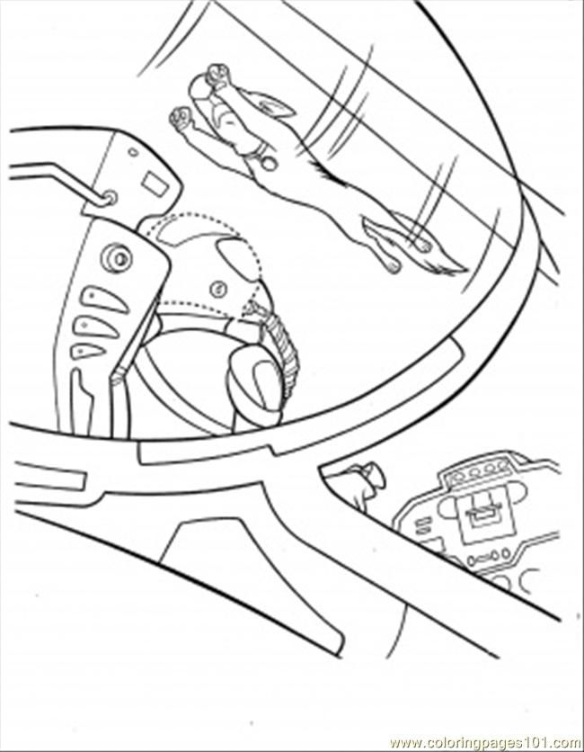 bolt coloring pages for kids - photo#9