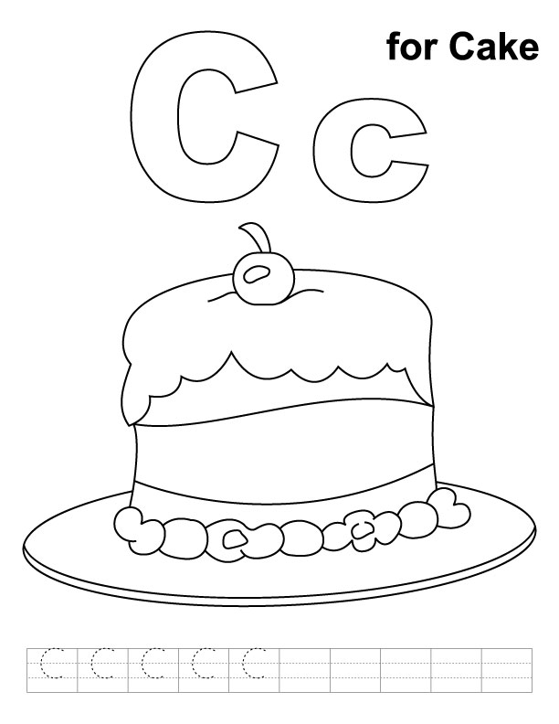 c is for coloring pages - photo #22
