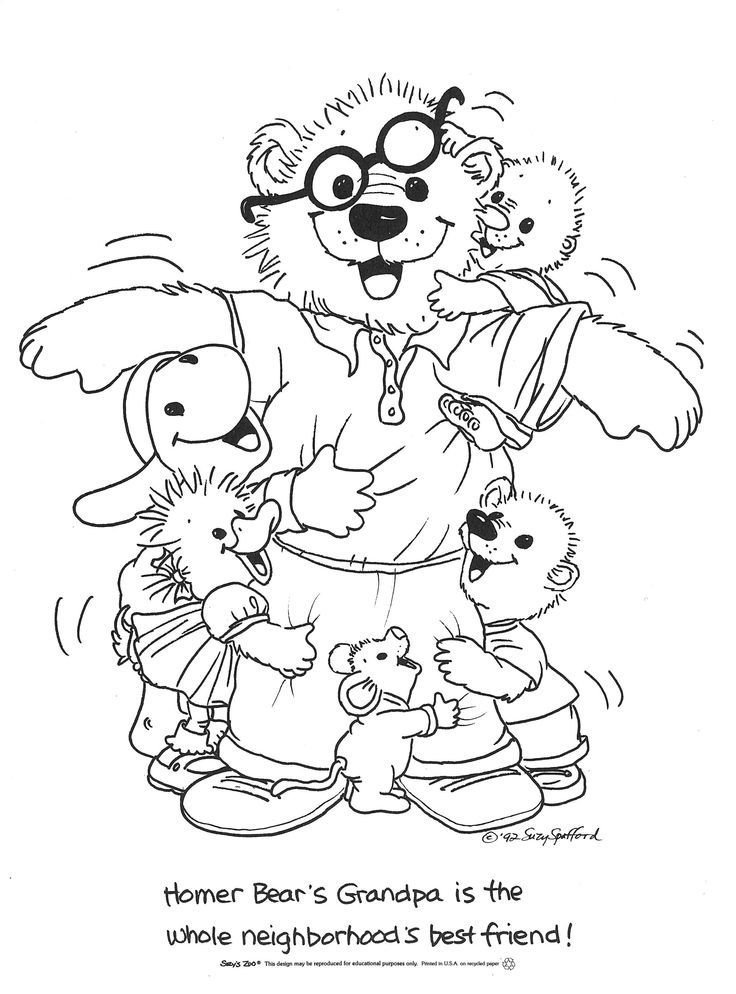 Suzy Zoo Coloring Pages
