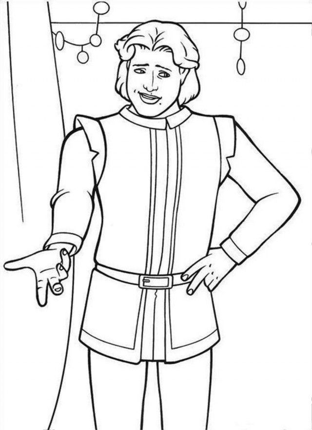 Shrek 3 Coloring Pages Coloring Home