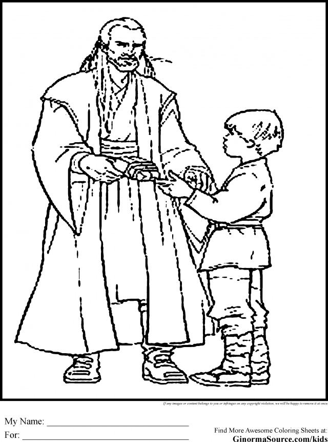 jedi coloring pages - photo#25