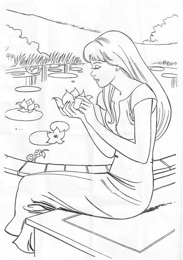 Barbie the princess and the pauper coloring home for Barbie princess and the pauper coloring pages