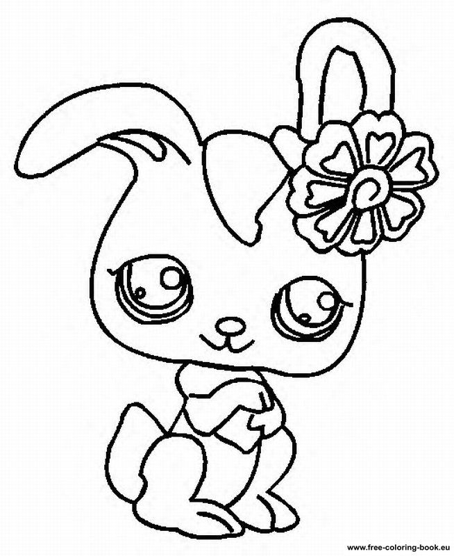 littlest pets shop coloring pages - photo#18
