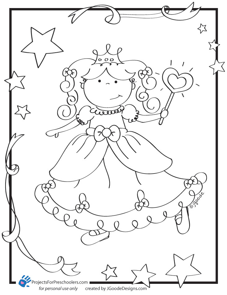 free printable princess coloring pages - photo#9