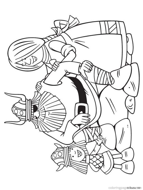 Free Colouring Pages Vikings : Viking Coloring Page Coloring Home