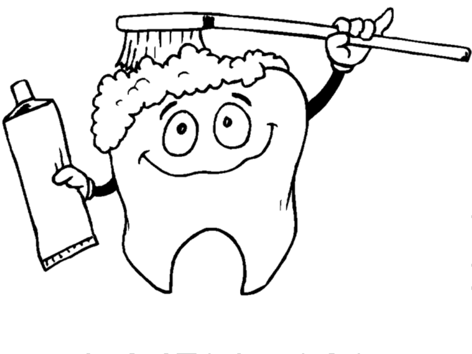 Tooth Coloring Pages Printable - Coloring Home