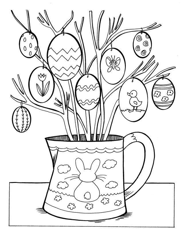 Coloring Pages Easter Pdf : Easter coloring pages home