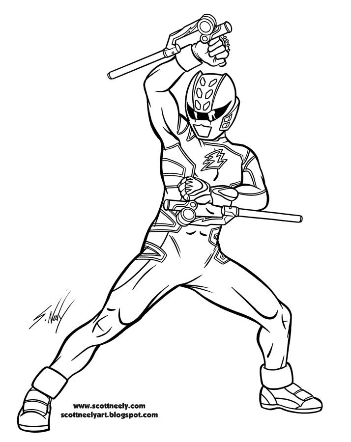 power rangers coloring pages online games | Coloring Pages For Kids