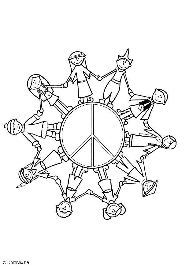 Children Of The World Coloring Page Az Coloring Pages Children Of The World Coloring Page